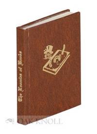 Skokie, IL: Black Cat Press, 1981. faux leather, title gilt-stamped on spine, decoration gilt-stampe...