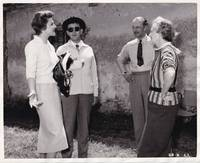 image of The Scapegoat (Original photograph of Daphne Du Maurier, Alec Guinness, and Nicole Maurey on the set of the 1959 film)