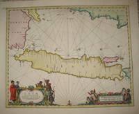 (Map of Java/Borneo/Sumatra): Insulae Iavae Cum parte insularum Borneo Svmatrae et circumjacentium insularum novissima delineatio