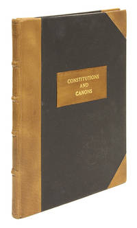 Constitutions and Canons Ecclesiastical. London, 1640 by Church of England  - 1683  - from The Lawbook Exchange Ltd (SKU: 67425)