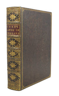 First Part of the Institutes of the Lawes of England