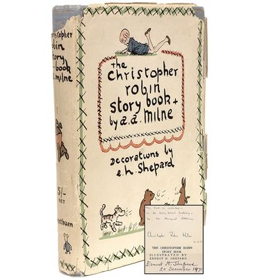 The Christopher Robin Story Book from...