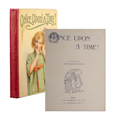 London: S.W. Partridge & Co., Lrd, 1910. First edition. Original red cloth over color pictorial fron...