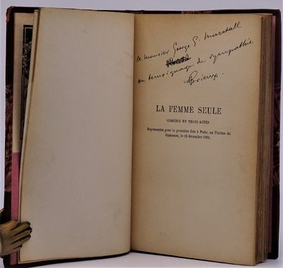 Paris: P.- V. Stock & Cie., 1913. SCARCE SIGNED AND INSCRIBED BY AUTHOR at half-title page -