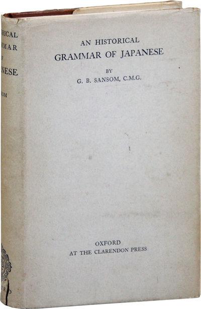 London: Oxford University Press, 1928. First Edition. Octavo; dark reddish-brown cloth, with titles ...
