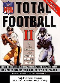 image of Total Football II: The Official Encyclopedia of the National Football League