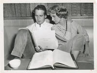 image of Rally 'Round the Flag, Boys! (Original photograph of Paul Newman and Joanne Woodward on the set of the 1958 film)