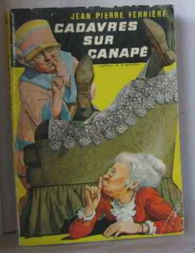 Cadavres sur canap by ferri re jean pierre 1959 from for Canape calculator