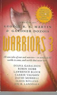 image of Warriors 3 All-new tales of war and warriors - in worlds of old, worlds to come, and worlds that never were
