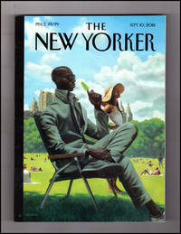"image of The New Yorker - September 10, 2018. Kadir Nelson Cover, ""Savoring Summer""; Giuliani As Trump-Mouthpiece; Diva; Wolfgang Tillmans; Ruth E. Carter; Undocumented Children; Personality Tests; The Apparition; Norm Streaming; Wyclef Jean; Wildfires"