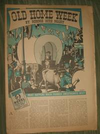 image of Old Home Week  Philadelphia Record Supplement for August 13, 1939