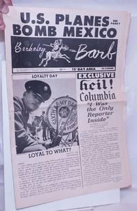image of Berkeley Barb: vol. 6, #18 (#142) May 3-9, 1968: U.S. Planes Bomb Mexico