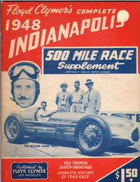 Floyd Clymer's Complete 1948 Indianapolis 500 Mile Race Supplement