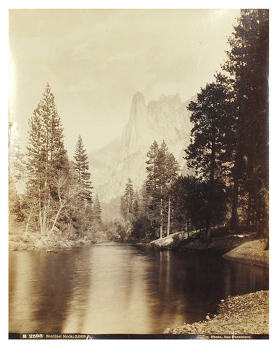 """San Francisco: I. W. Taber & Co., n.d. . Original photograph, 7 5/8 x 9 5/8"""", b&w albumen print, m..."""