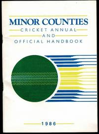 image of Minor Counties Cricket Annual and Official Handbook 1986