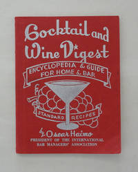 Cocktail and Wine Digest Encyclopedia & Guide For Home & Bar