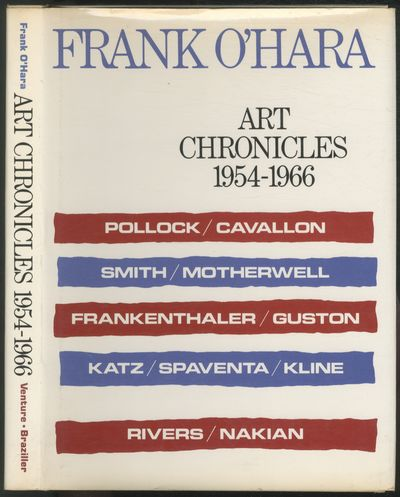 New York: George Braziller, 1975. Hardcover. Fine/Fine. First edition. Quarto. Tiny, faint stain on ...