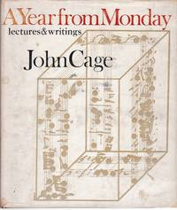 A Year from Monday: Lectures and Writings by John Cage
