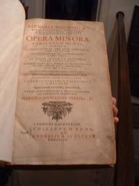 Barnabae Brissonnii Opera minora varii argumenti, nimirum antiquitatum ex jure civili selectarum libri quatuor