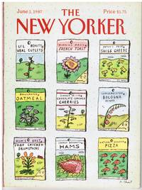image of NEW YORKER: COVER SEED PACKETS FOR MEALS by ROZ CHAST