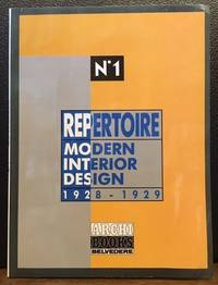 REPERTOIRE: MODERN INTERIOR DESIGN 1928-1929