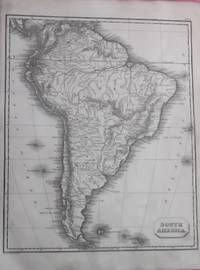 SOUTH AMERICA Inc. Falkland Islands (ORIGINAL ANTIQUE MAP)