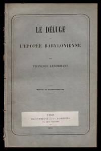 image of Le Déluge et L'Épopée Babylonienne.