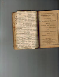 A Unique Mid-Nineteenth Century Scrapbook, Containing Numerous Political Newspaper Clippings and  Republican Campaign Edition For The Million: Containing The Republican Platform, The Lives of Fremont And Dayton , with Beautiful Steel Engravings of Each...