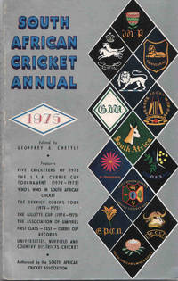 South African Cricket Annual 1975 (Volume 22)