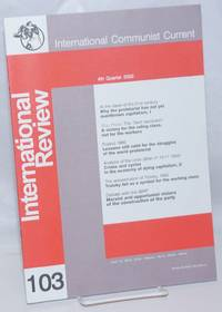image of International Review Number 103. 4th Quarter 2000