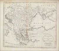 Map of Turkey in Europe and Hungary, Russell, ca 1800 by Russell