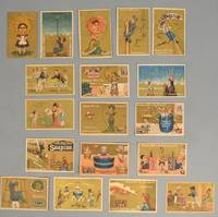 18 ADVERTISING TRADE CARDS Designed by Charlotte Perkins Gilman