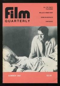 Film Quarterly (Summer 1982) [cover: István Szabó's CONFIDENCE]