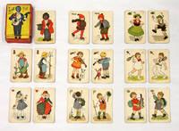 Zwarte Piet, Furth, c. 1925, 31 Color Cards