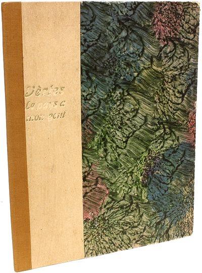 Paris, 1921, 1921. 1 vol., portfolio, 11-3/4
