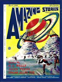 """image of AMAZING Stories: April, Apr. 1926 (""""Off on a Comet - or, Hector Servadac"""")(Reprint edition))"""