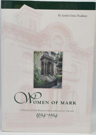 Richmond: The Library of Virginia, 1995. Soft Cover. Near Fine binding. Signed. Sandra Gioia Treadwa...