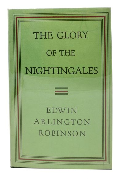 New York: MacMillan, 1930. 1st edition. Green cloth with gold lettering. Light green dust jacket. NF...