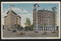 GEORGIAN TERRACE HOTEL AND THE PONCE DE LEON APARTMENTS, ATLANTA, GEORGIA by Postcard - 1917 - from Gibson's Books and Biblio.com