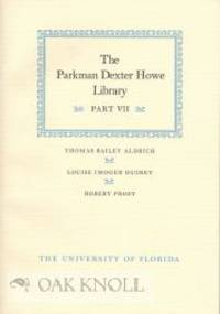 Gainesville, Florida: The University of Florida, 1990. stiff paper wrappers. Howe, Parkman Dexter. 8...