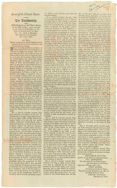 the quasi war essay The papers of alexander hamilton skip navigation the years of hamilton's service as inspector general of us armed forces during the quasi-war with france.