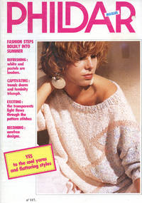 PHILDAR MAILLES : No. 117, 1985 : Fashion Steps Boldly Into Summer