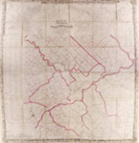 Map of the Vicinity of Philadelphia From actual surveys by D.J. Lake and S.N. Beers Assisted by F.W. Beers, L.B. Lake and D.G. Beers