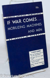 image of If war comes... mobilizing machines and men