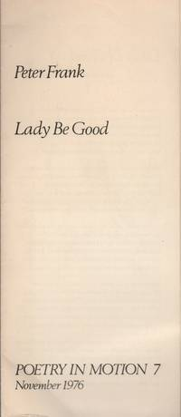 LADY BE GOOD (Poetry in Motion 7 - November 1976)