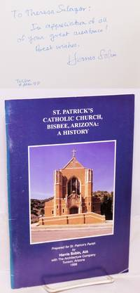image of St. Patrick's Catholic Church, Bisbee, Arizona; prepared for St. Patrick's parish by Harris Sobin, AIA, with The Architecture Company