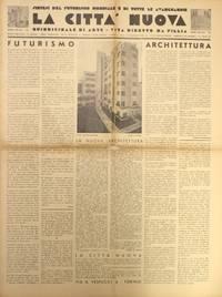 image of La Città Nuova. Quindicinale di Arte-Vita Diretto da Fillia (Later subtitles: Quindicinale di Architettura and Quindicinale di Architettura e Arte)