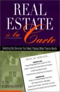 Real Estate a la Carte