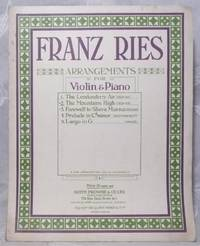 Mountains High: Irish Air Arranged for Violin and Piano, The. by  Franz (arranged by) Ries - Paperback - from Bensons Antiquarian Books and Biblio.com