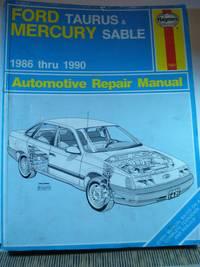 Ford Taurus & Mercury Sable 1986 thru 1990 Automotive Repair Manual